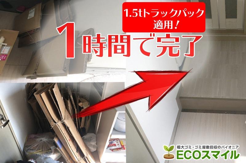 格安おススメ業者のトラック積み放題での不用品回収東京都北区の現場レポート
