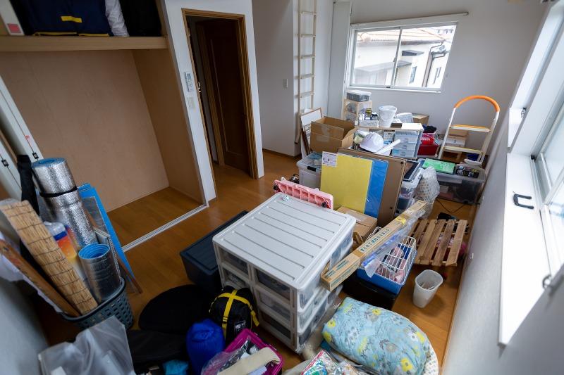 部屋の整頓