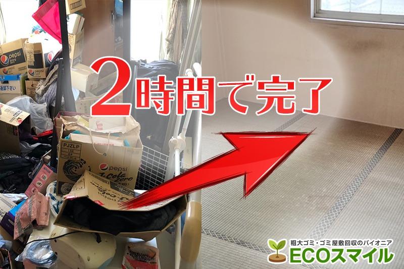 格安おススメ業者のトラック積み放題でのゴミ屋敷の掃除・片付け代行及び不用品回収|埼玉県川越市の現場レポート
