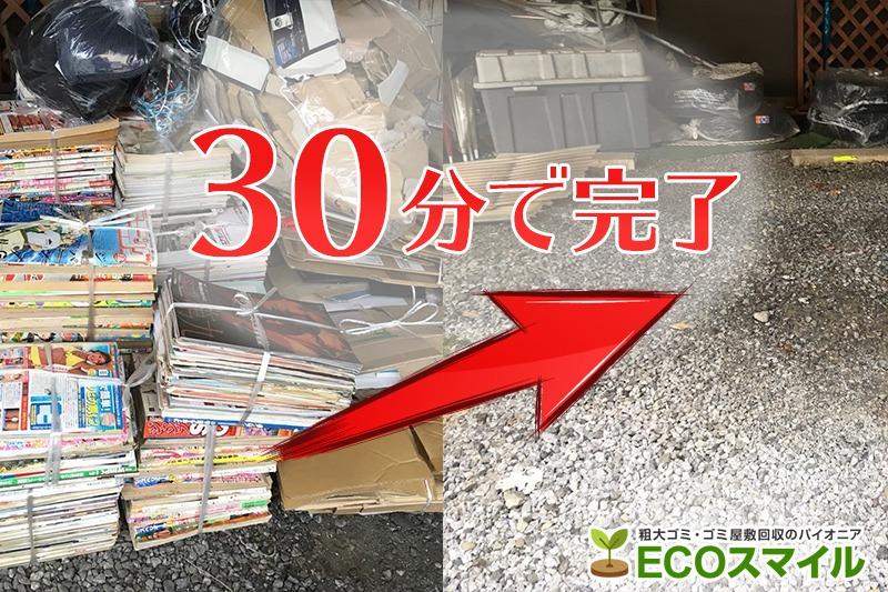 格安おススメ業者のトラック積み放題での不用品回収現場レポート