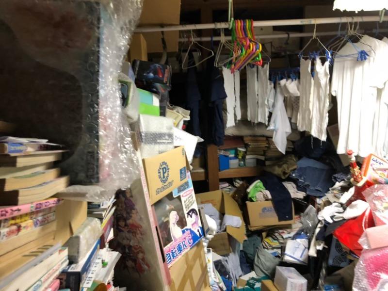 ゴミ屋敷|汚部屋の不用品回収