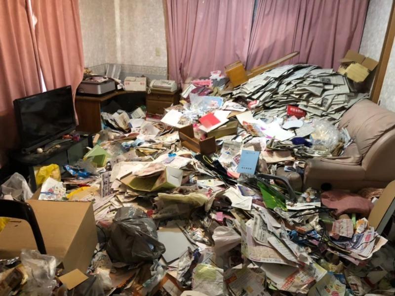 ゴミ屋敷|汚部屋