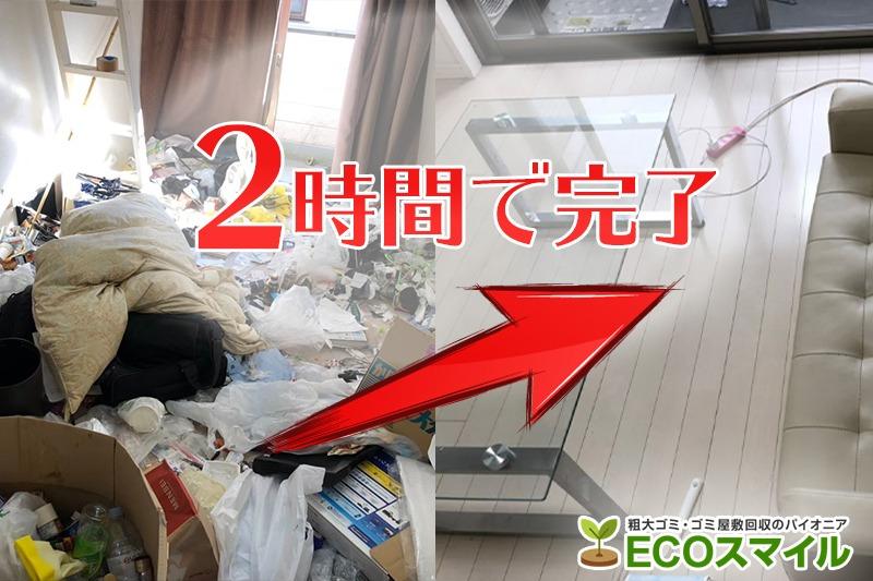 格安おススメ業者のトラック積み放題でのゴミ屋敷の掃除、片付け代行及び不用品回収|西東京市の現場レポート