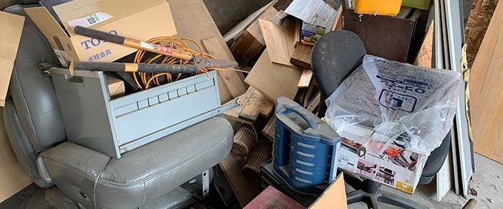 倉庫の不用品回収現場レポート
