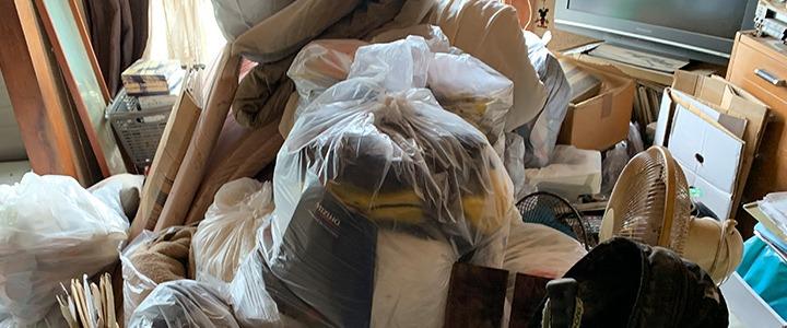 現場レポート|ゴミ屋敷の片付け|不用品回収