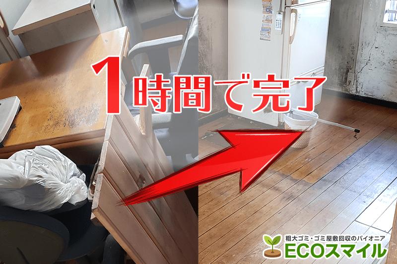 格安おススメ業者のトラック積み放題での不用品回収|神奈川県川崎市川崎区の現場レポート