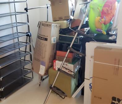 入間郡越生町の不用品回収事例作業前